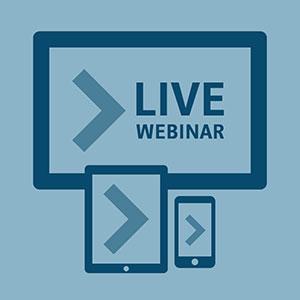 Free Live Webinar - Join us online 20th November 2019